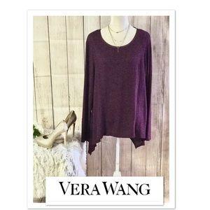 New Simply Vera Wang Cozy Seamed Top.